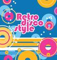 Retro style background vector