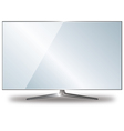 Flat tv vector