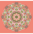 Ornamental round abstract pattern vector