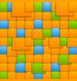 Abstract colorful tech backdrop vector