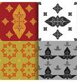 Seamless pattern of thai art vector