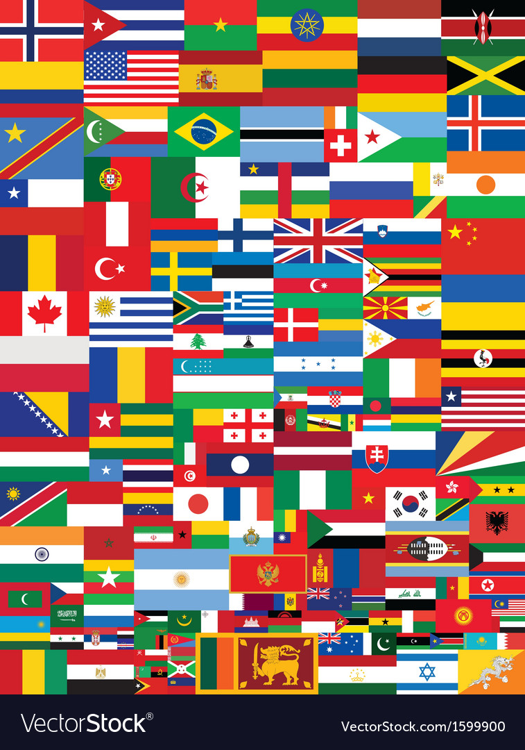 Flags background vector   Price: 1 Credit (USD $1)