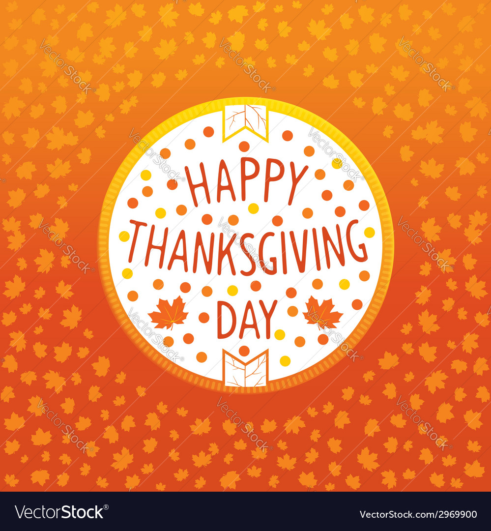 Thanksgiving day icon vector | Price: 1 Credit (USD $1)