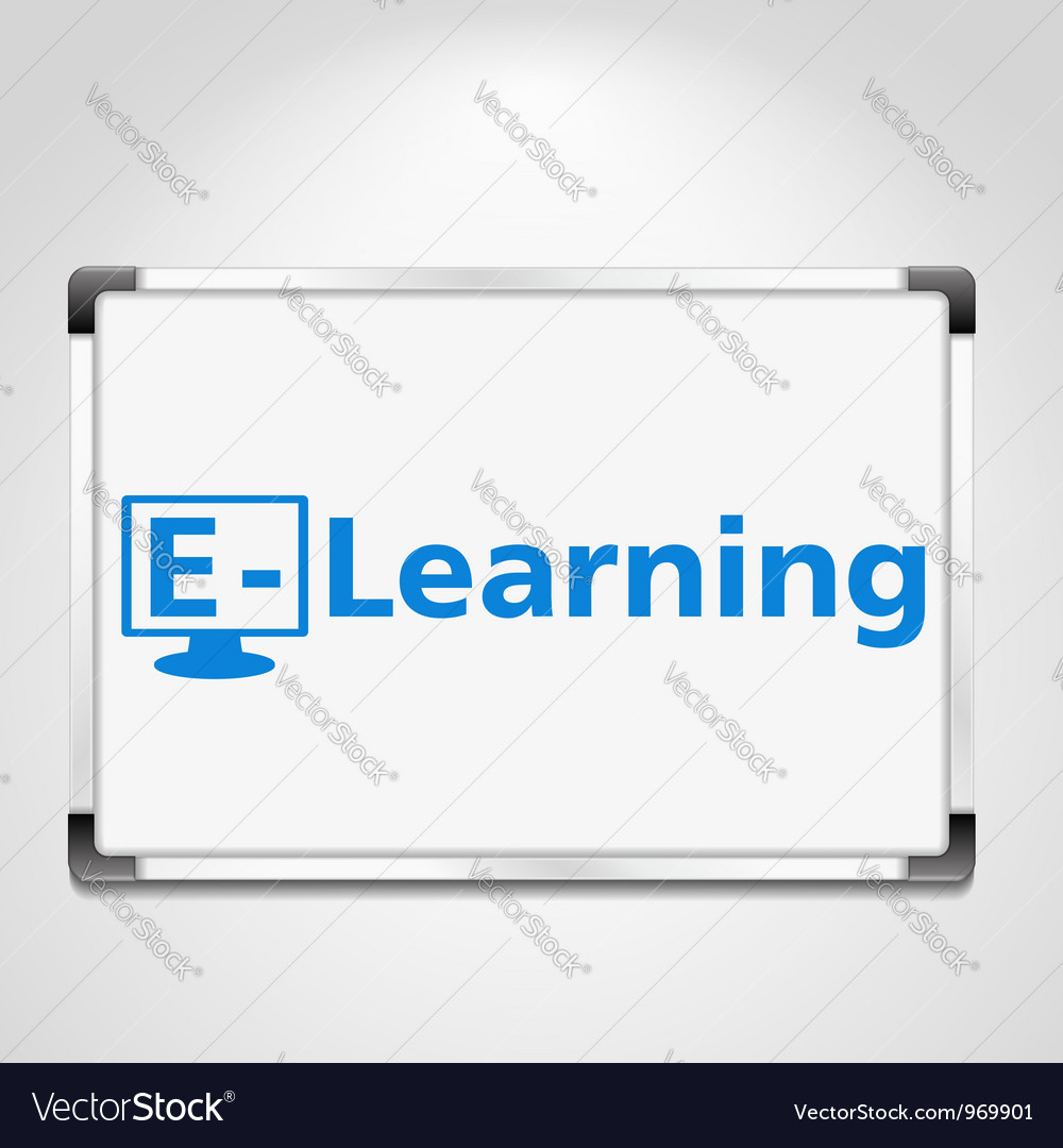 E-learning concept vector | Price: 3 Credit (USD $3)