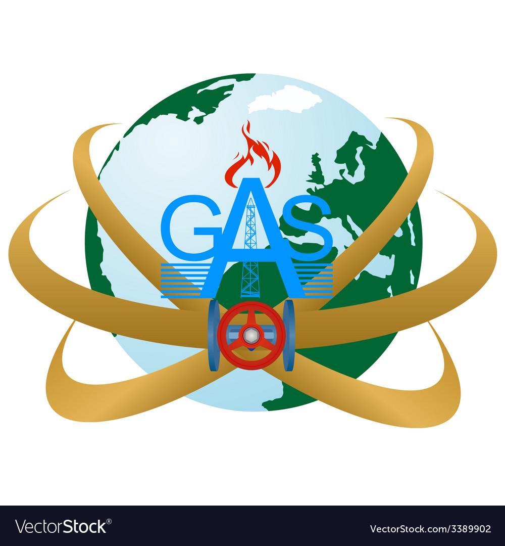 Gas pipeline vector | Price: 1 Credit (USD $1)