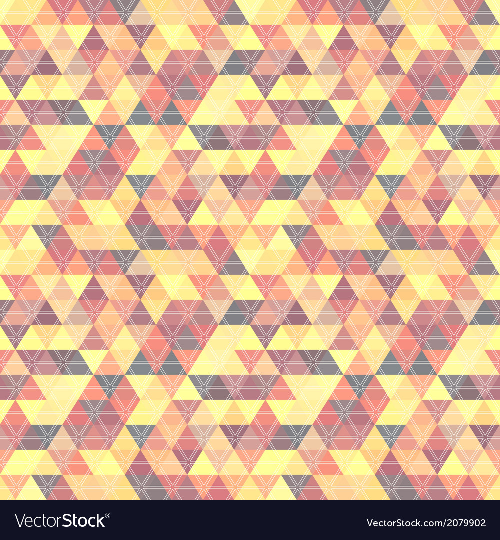 Pattern geometric with triangles vector | Price: 1 Credit (USD $1)
