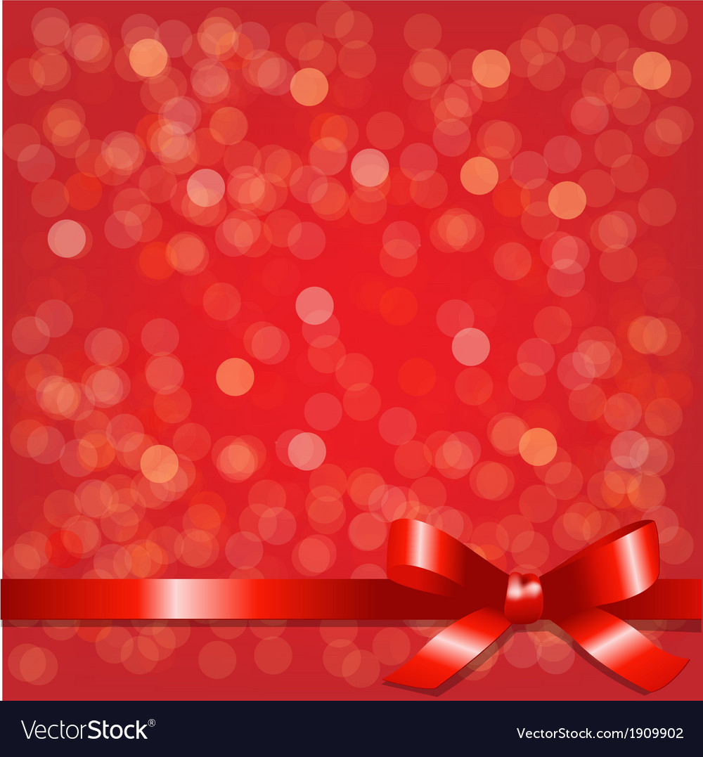 Red backgrounds with red ribbon vector | Price: 1 Credit (USD $1)