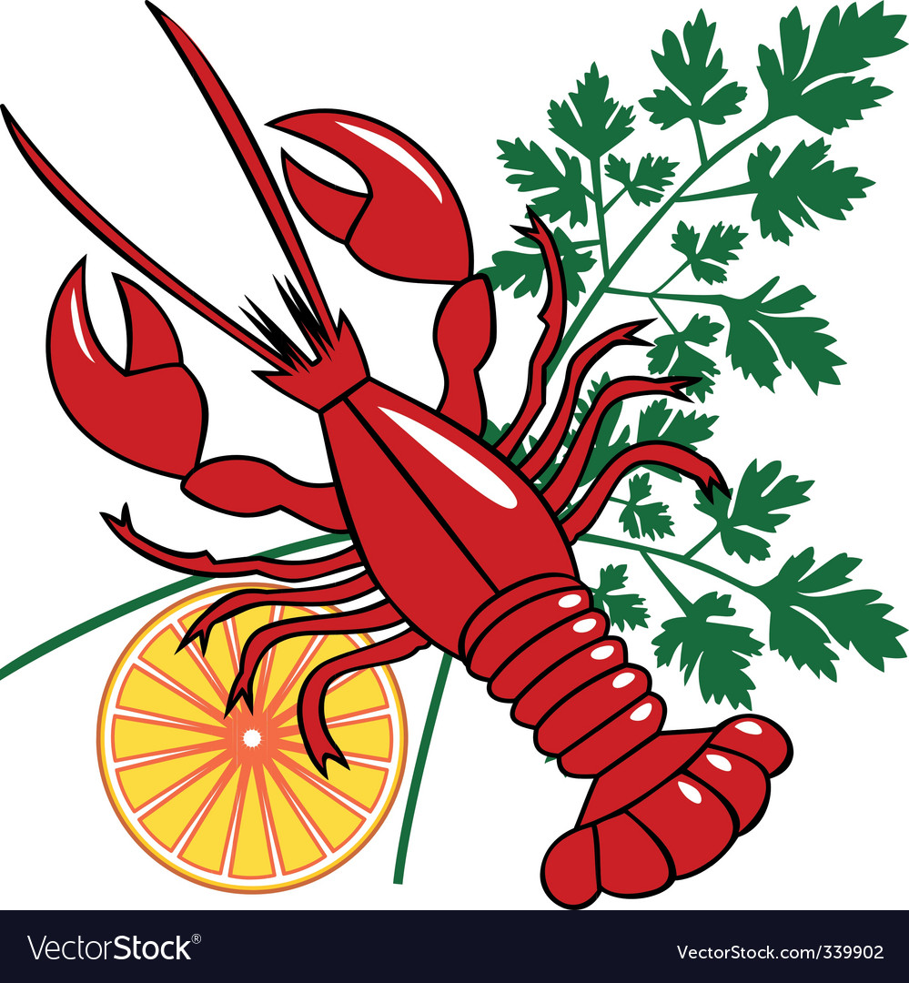 seafood dinner vector | Price: 1 Credit (USD $1)