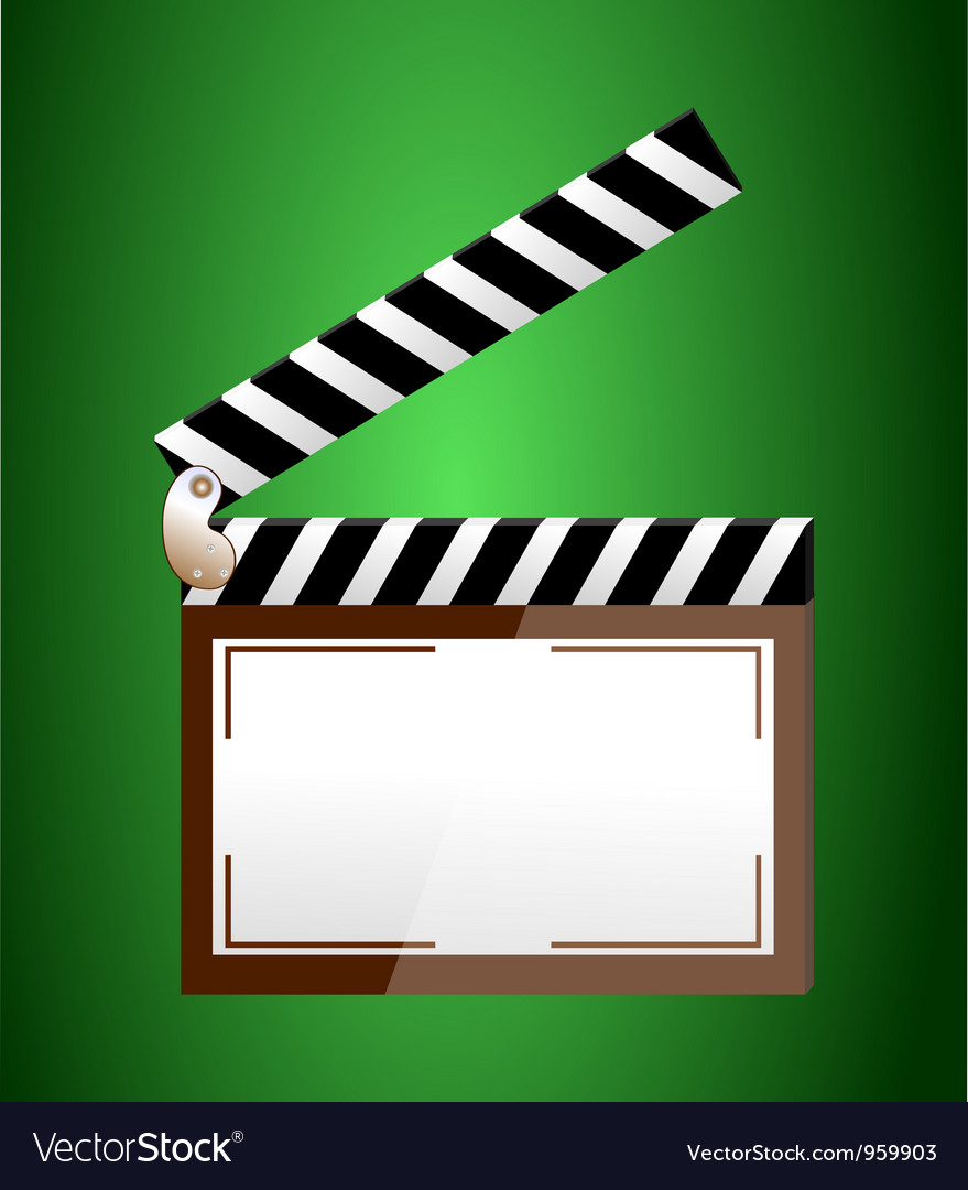 Clapper vector | Price: 1 Credit (USD $1)