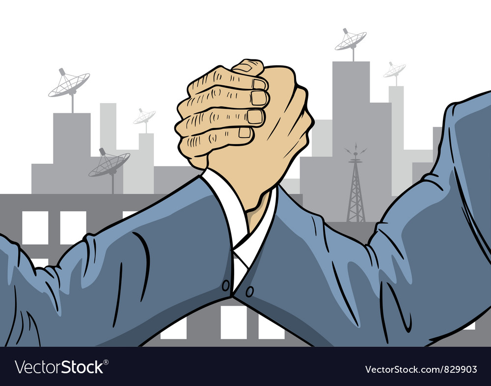 Competitive of businessman vector | Price: 1 Credit (USD $1)