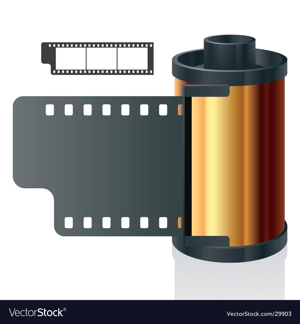 Film reel vector | Price: 1 Credit (USD $1)
