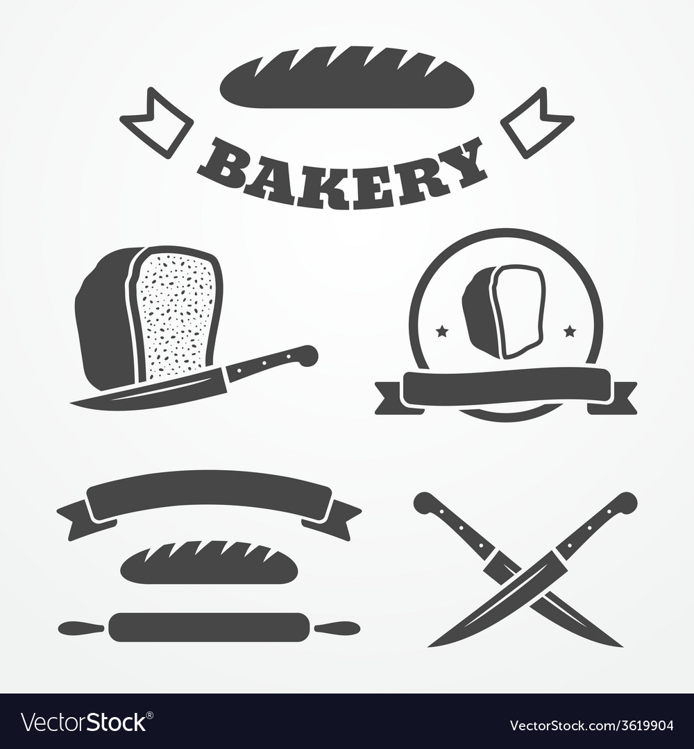 Bread and bakery vector   Price: 1 Credit (USD $1)