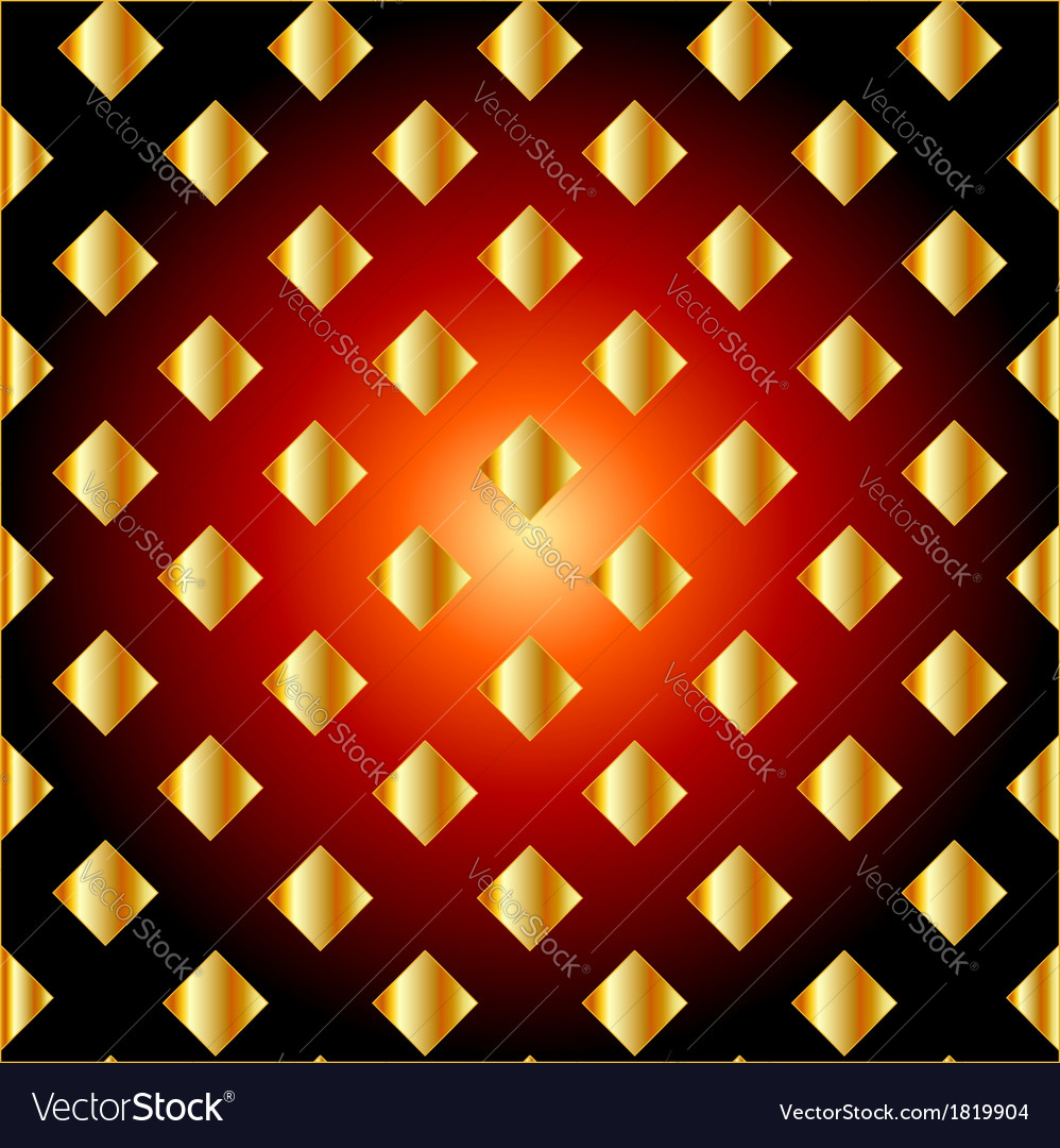 Golden grid background vector | Price: 1 Credit (USD $1)