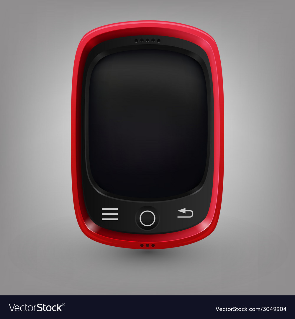 Red phone vector | Price: 1 Credit (USD $1)