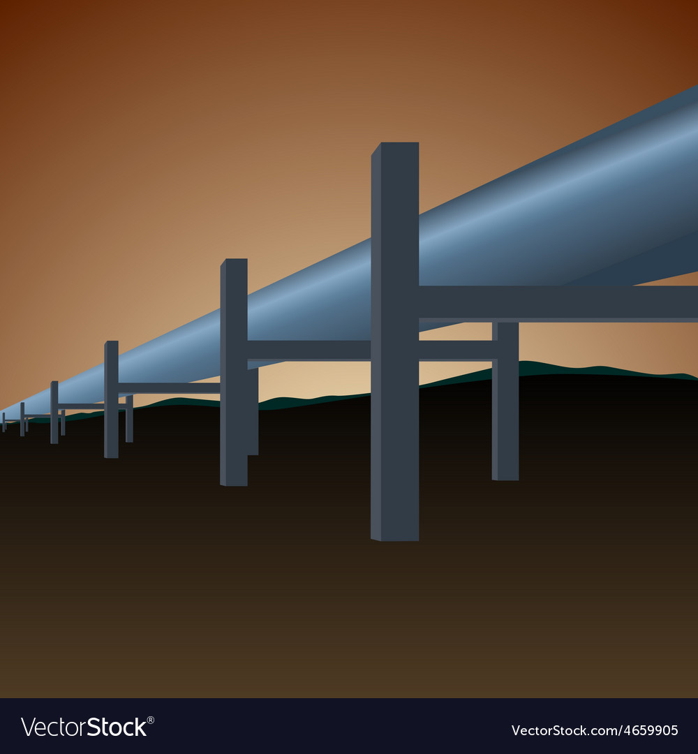 Gas pipe vector | Price: 1 Credit (USD $1)