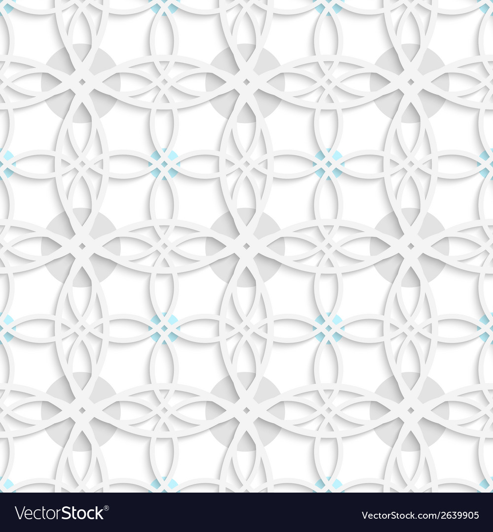 Geometrical pattern with gray and blue dots vector | Price: 1 Credit (USD $1)