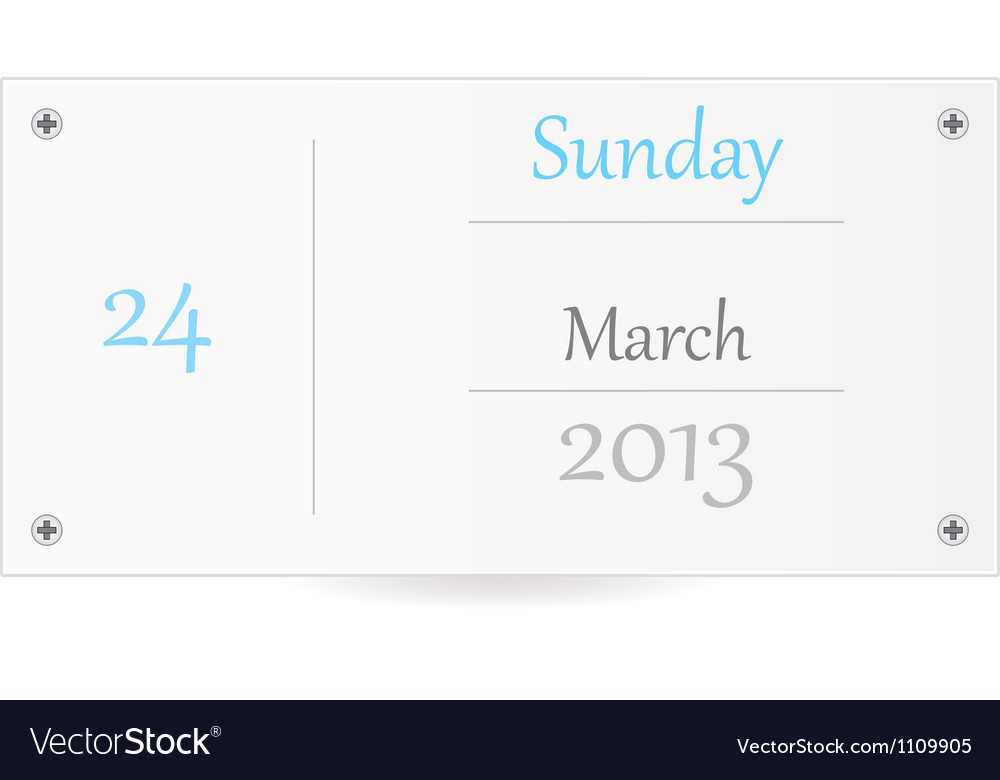 Small calendar vector | Price: 1 Credit (USD $1)