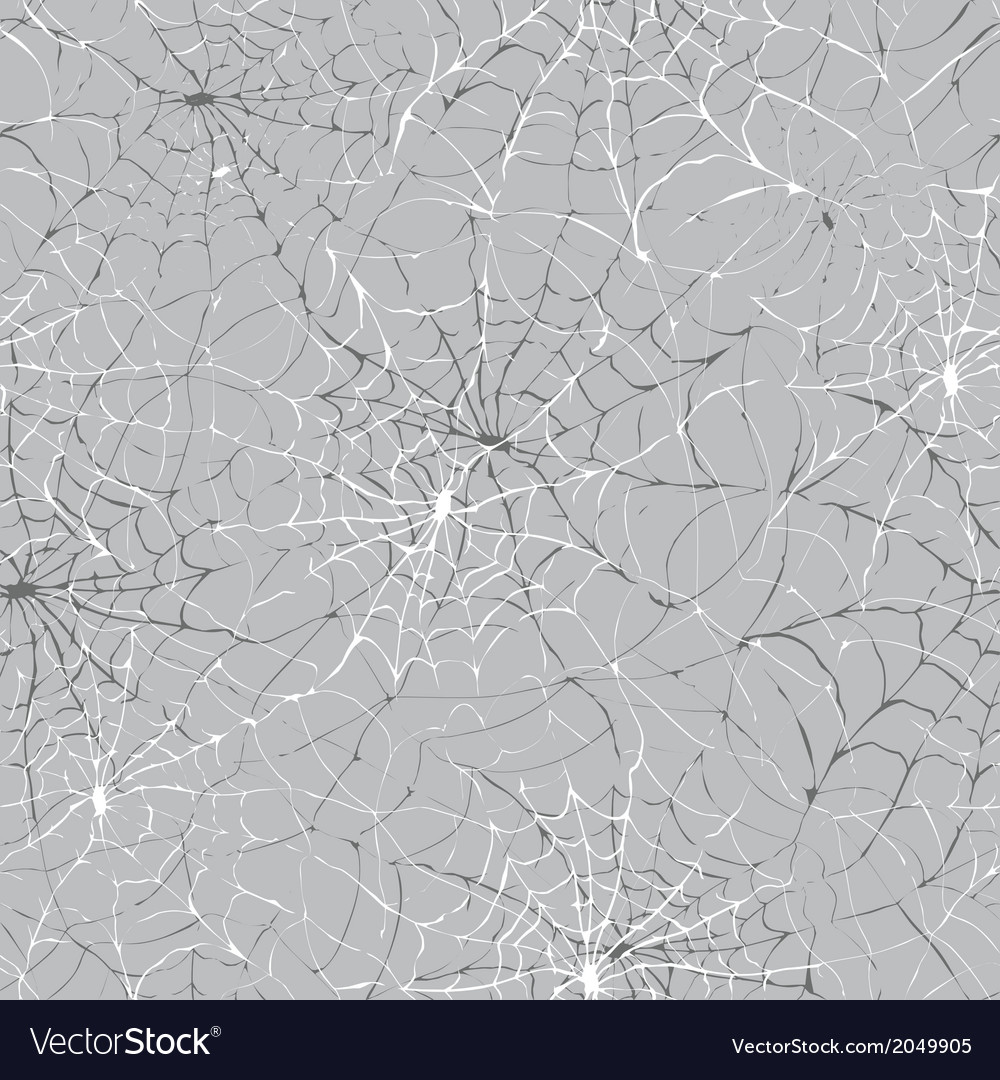 Spider web seamless halloween background texture vector | Price: 1 Credit (USD $1)
