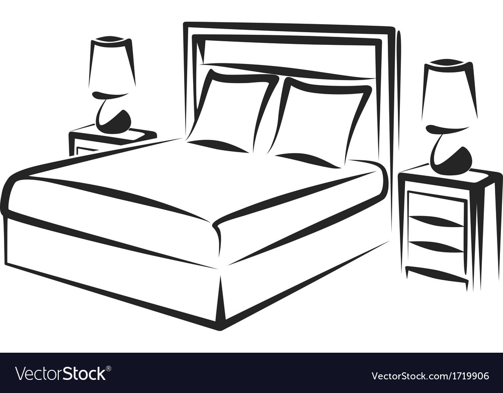 Bedroom vector