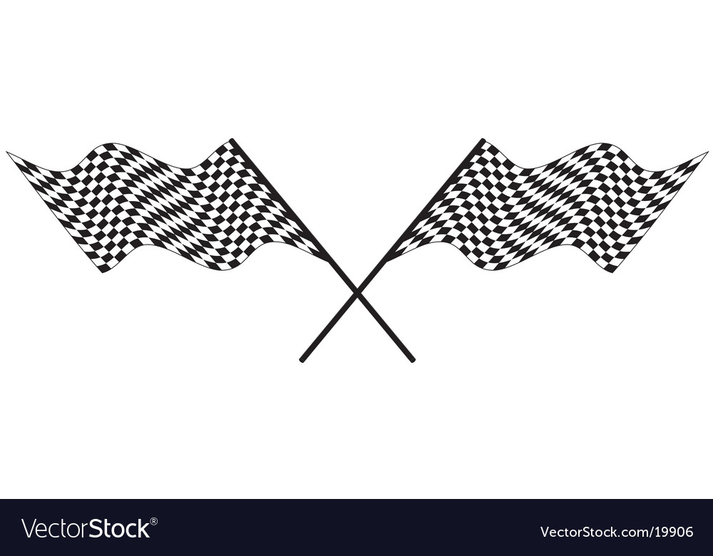 Racing flags vector | Price: 1 Credit (USD $1)