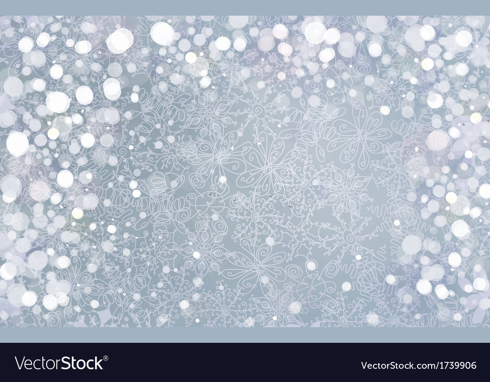 Snow background vector | Price: 1 Credit (USD $1)