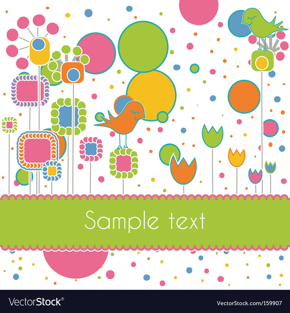 Cute card vector | Price: 1 Credit (USD $1)