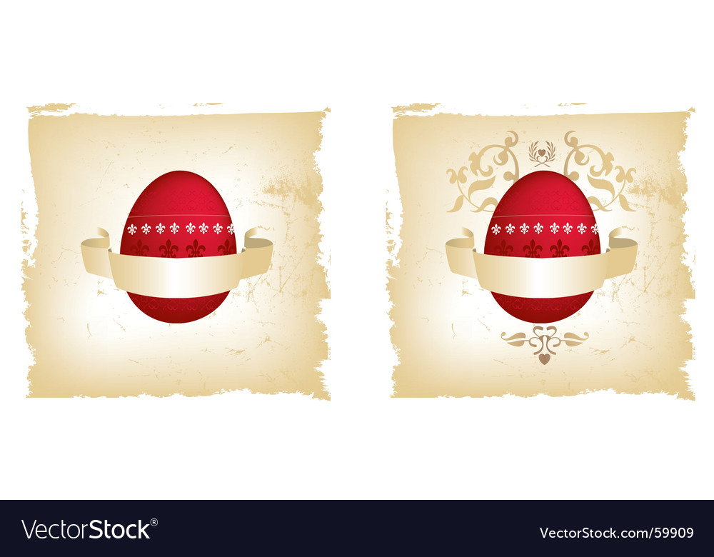Egg grunge vector | Price: 1 Credit (USD $1)