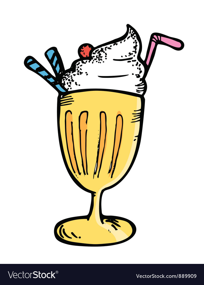 Juice float vector | Price: 1 Credit (USD $1)