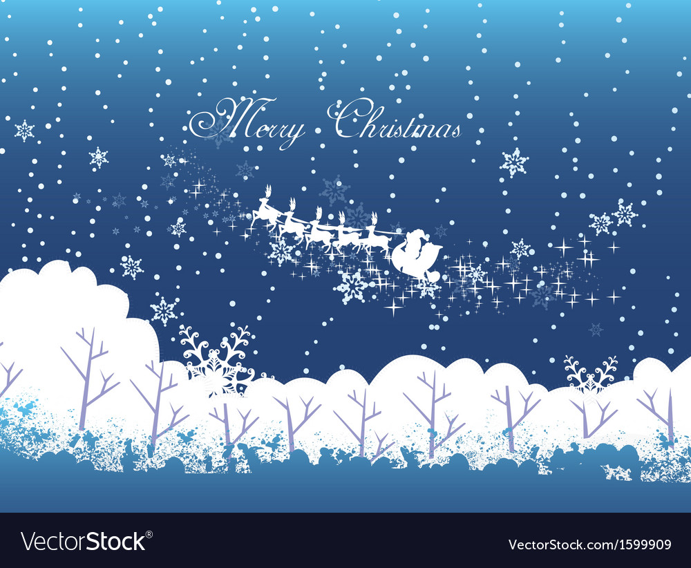 Merry christmas and winter vector | Price: 1 Credit (USD $1)