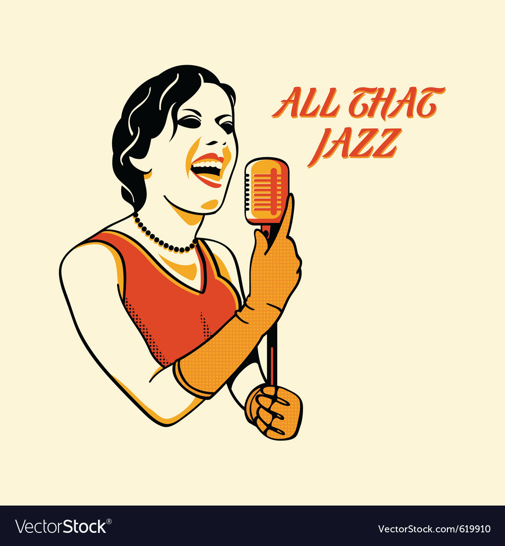All that jazz vector | Price: 1 Credit (USD $1)