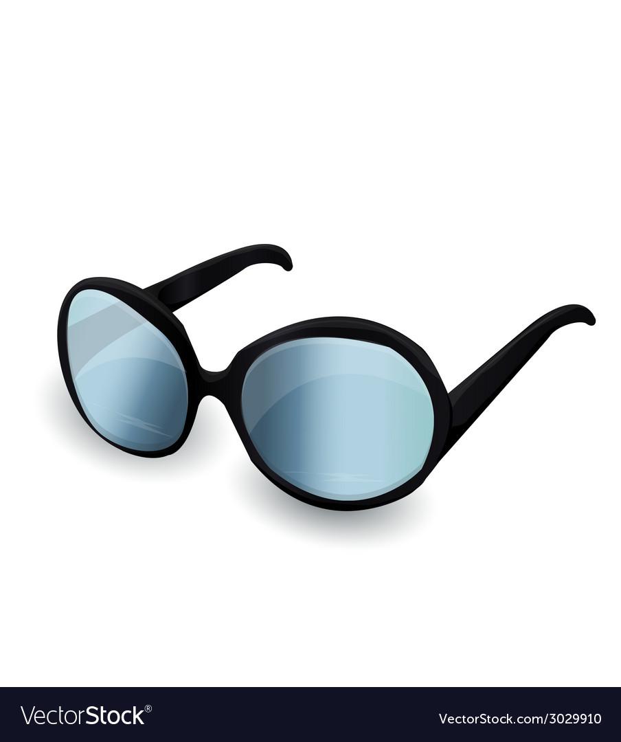 Black sunglasses vector | Price: 1 Credit (USD $1)
