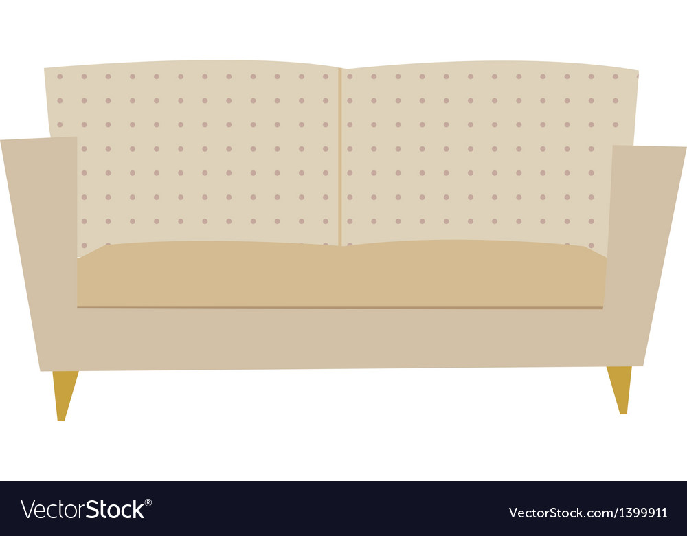 A sofa vector | Price: 1 Credit (USD $1)