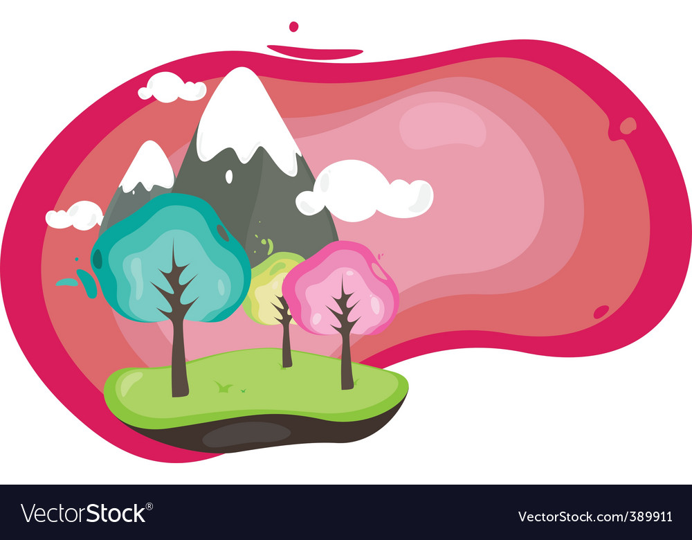 Nature is sweet vector | Price: 1 Credit (USD $1)