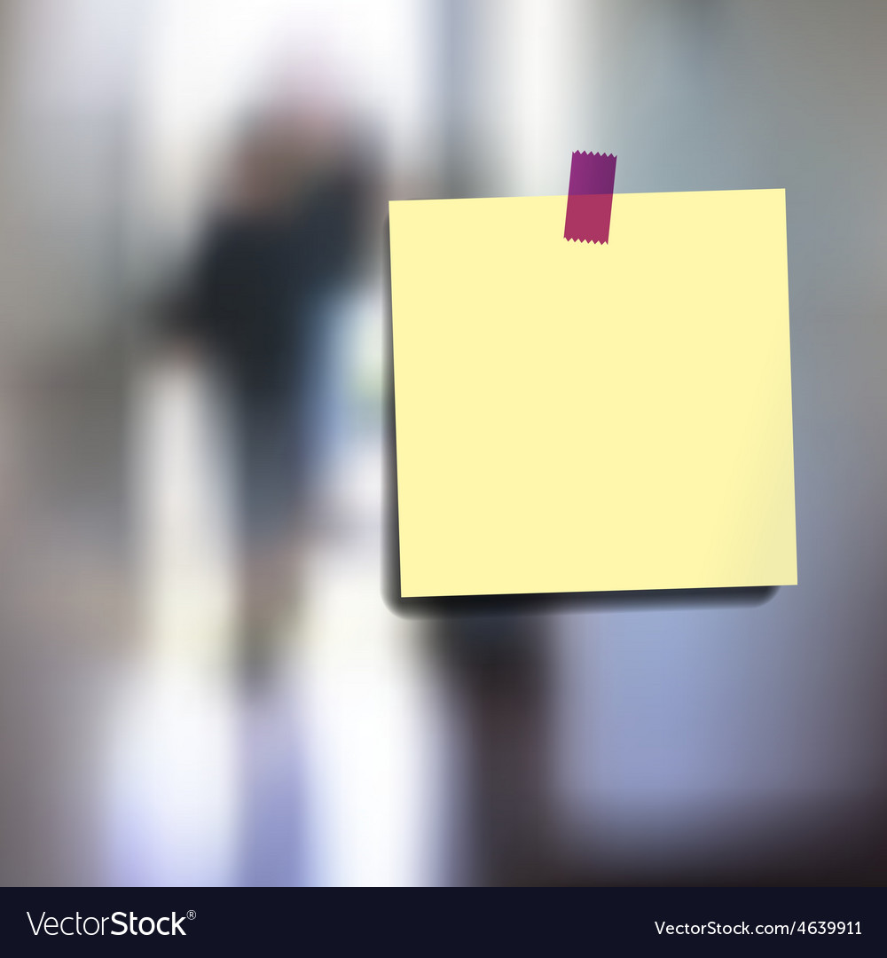 Sticky notes wallpaper vector | Price: 1 Credit (USD $1)