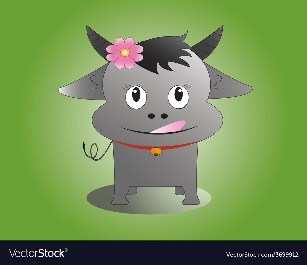 Buffalo vector | Price: 1 Credit (USD $1)