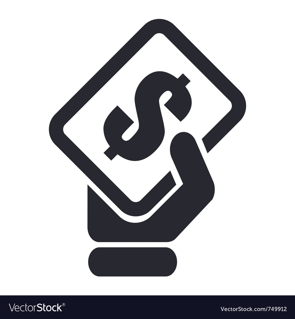 Cash icon vector | Price: 1 Credit (USD $1)