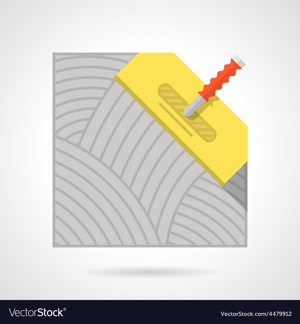 Colorful icon for flooring vector | Price: 1 Credit (USD $1)