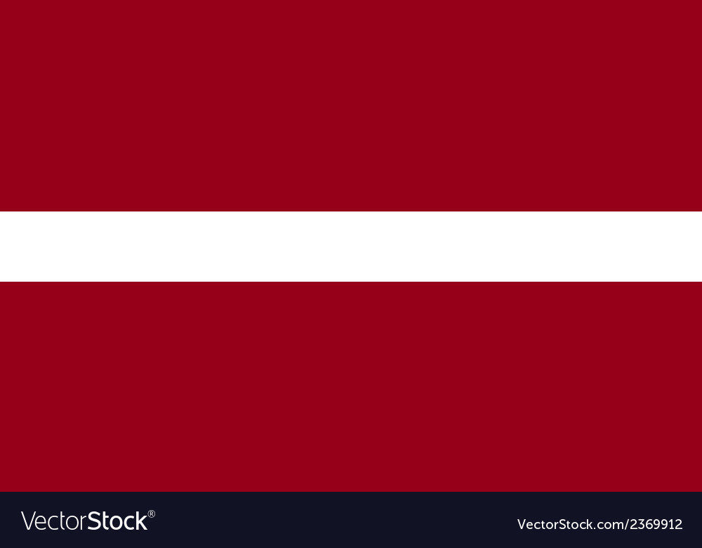 Flag of latvia vector | Price: 1 Credit (USD $1)