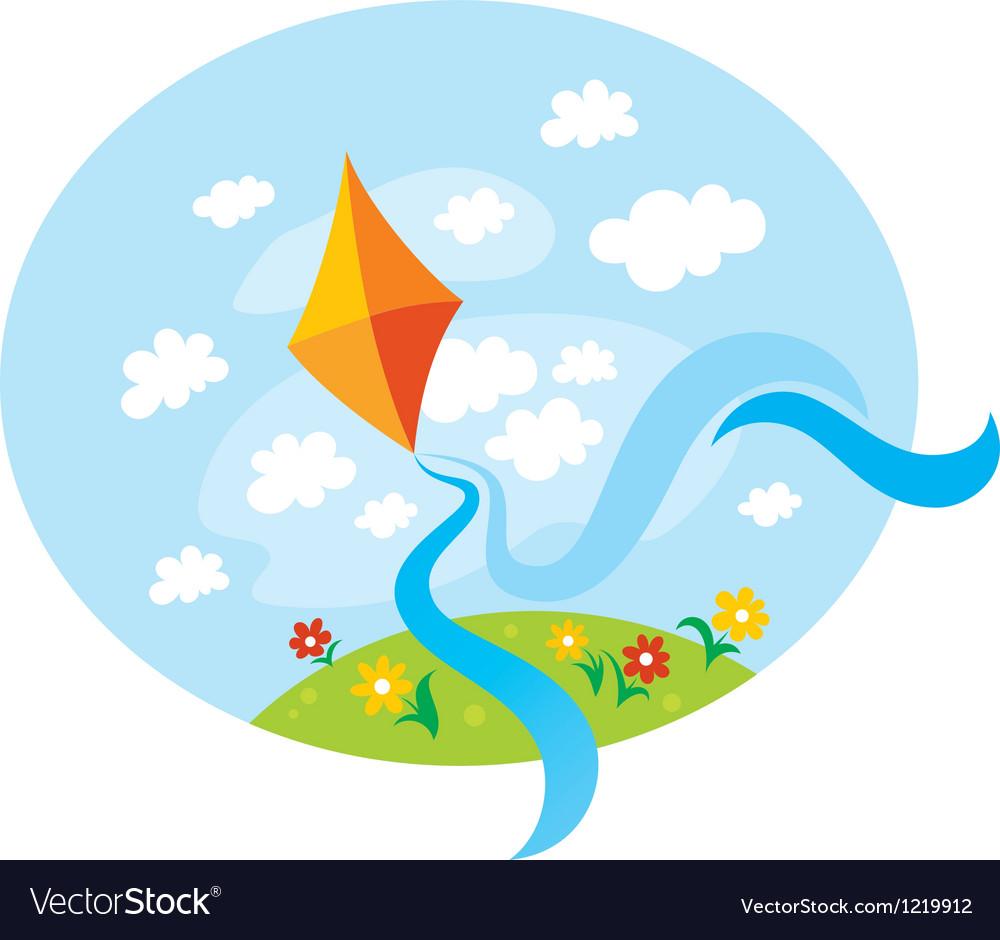 Kite vector   Price: 1 Credit (USD $1)