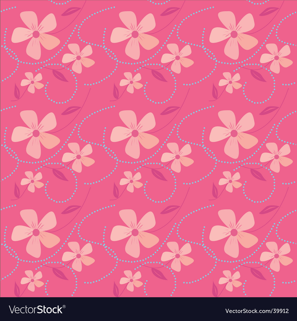 Pink seamless background vector | Price: 1 Credit (USD $1)