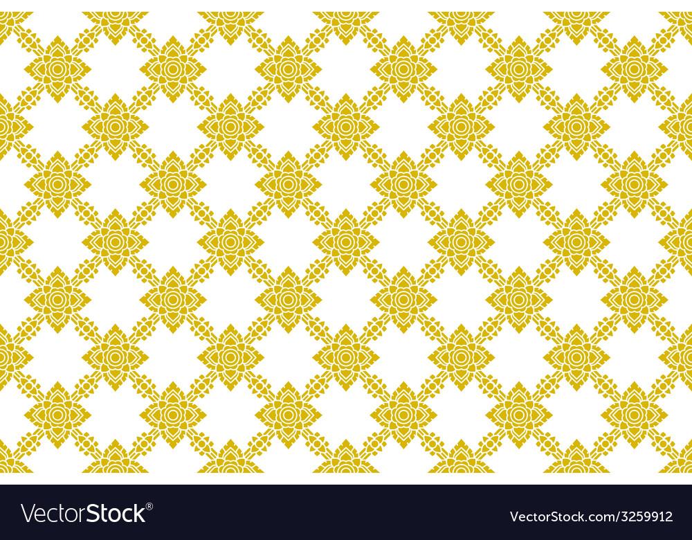 Thai pattern vector | Price: 1 Credit (USD $1)