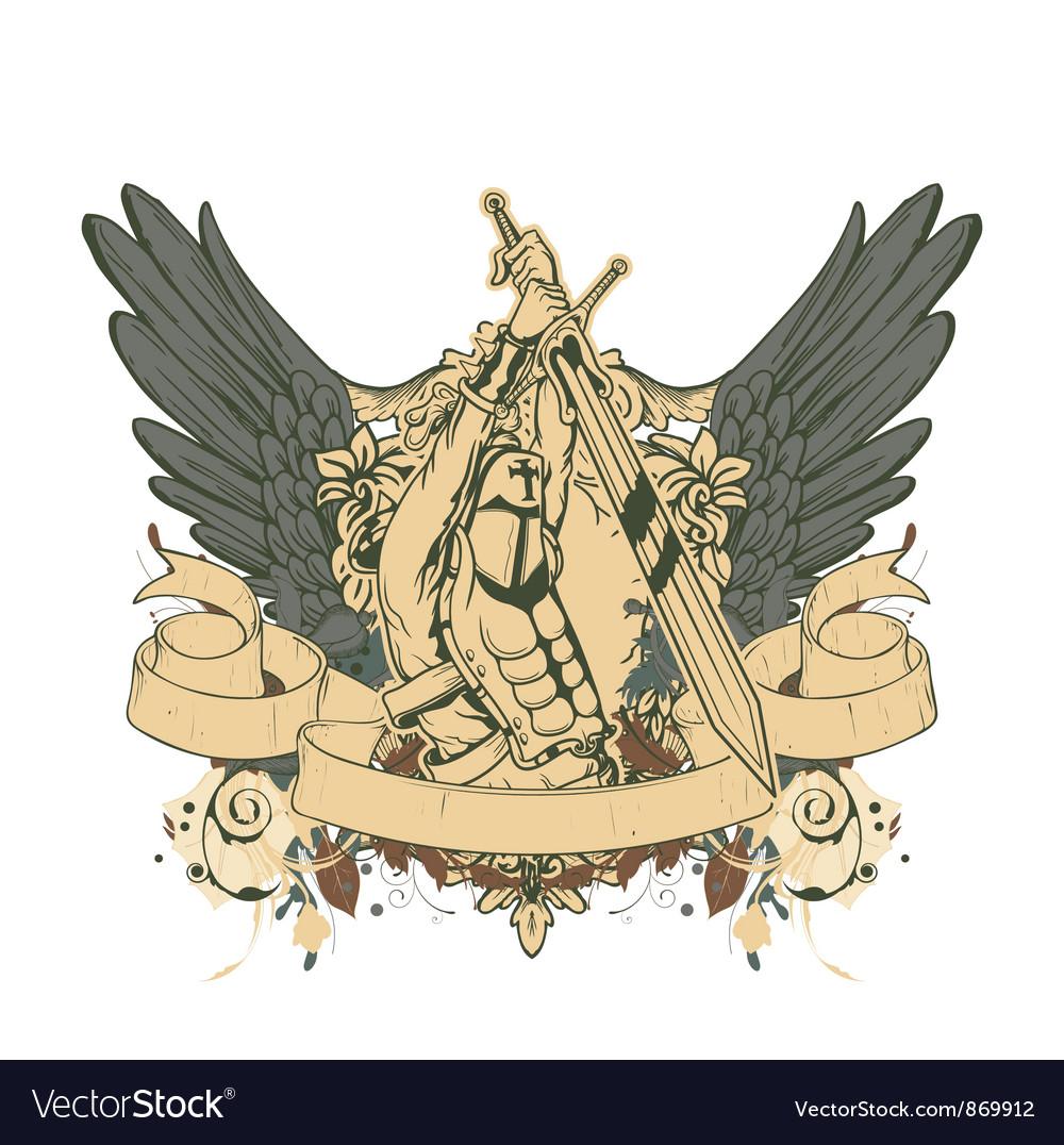 Warrior emblem vector   Price: 1 Credit (USD $1)