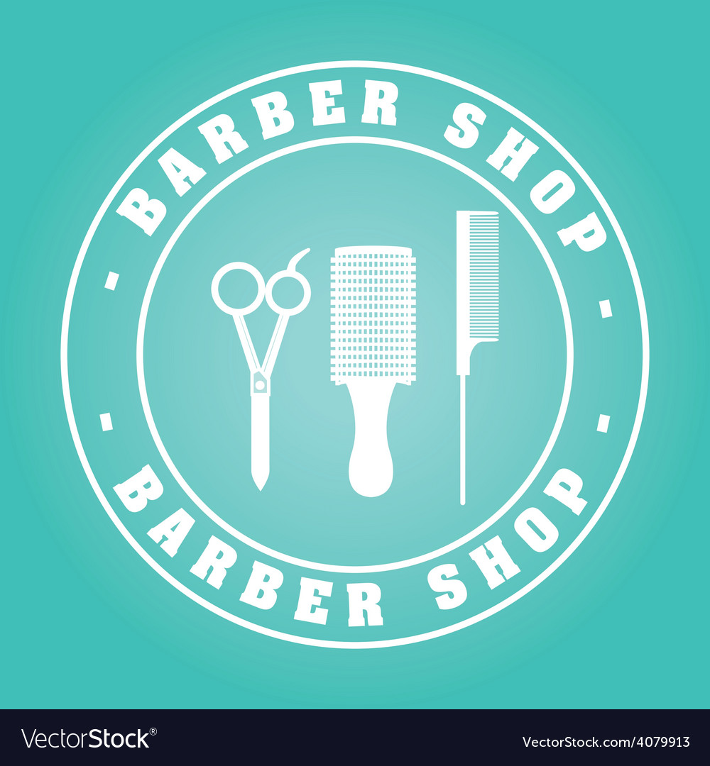 Barber shop vector | Price: 1 Credit (USD $1)