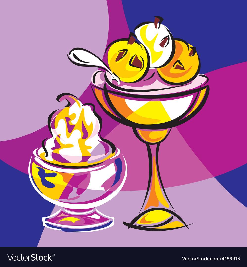 Sweet dessert vector   Price: 1 Credit (USD $1)