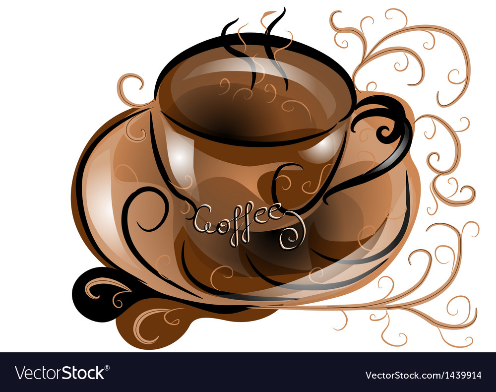 Abstract coffee vector   Price: 1 Credit (USD $1)