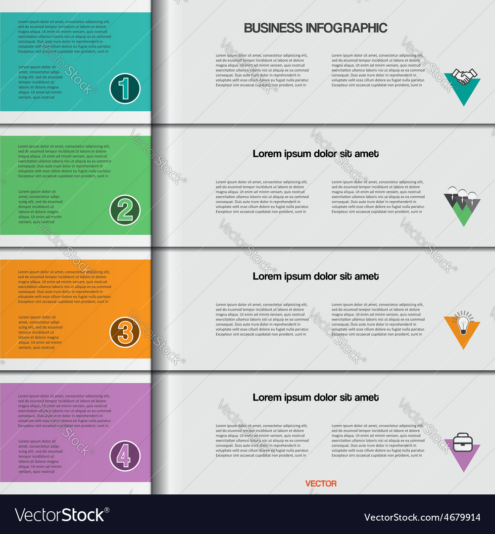 Infographic 4 vector | Price: 3 Credit (USD $3)