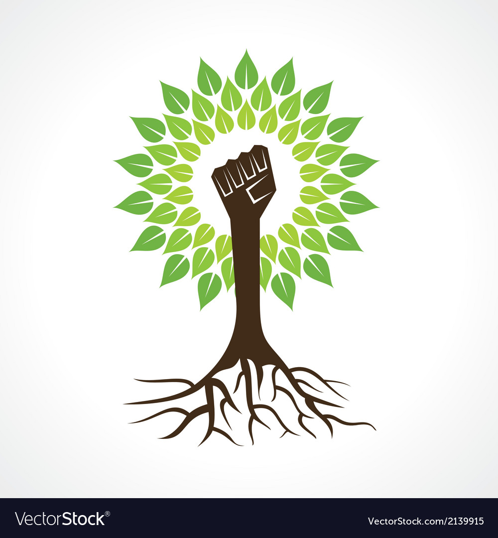 Unity hand make tree vector | Price: 1 Credit (USD $1)