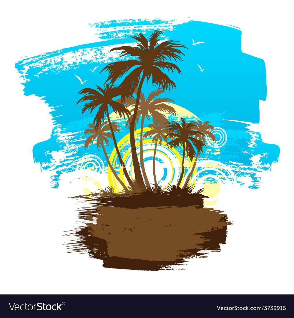 Beach 01 02 vector | Price: 1 Credit (USD $1)