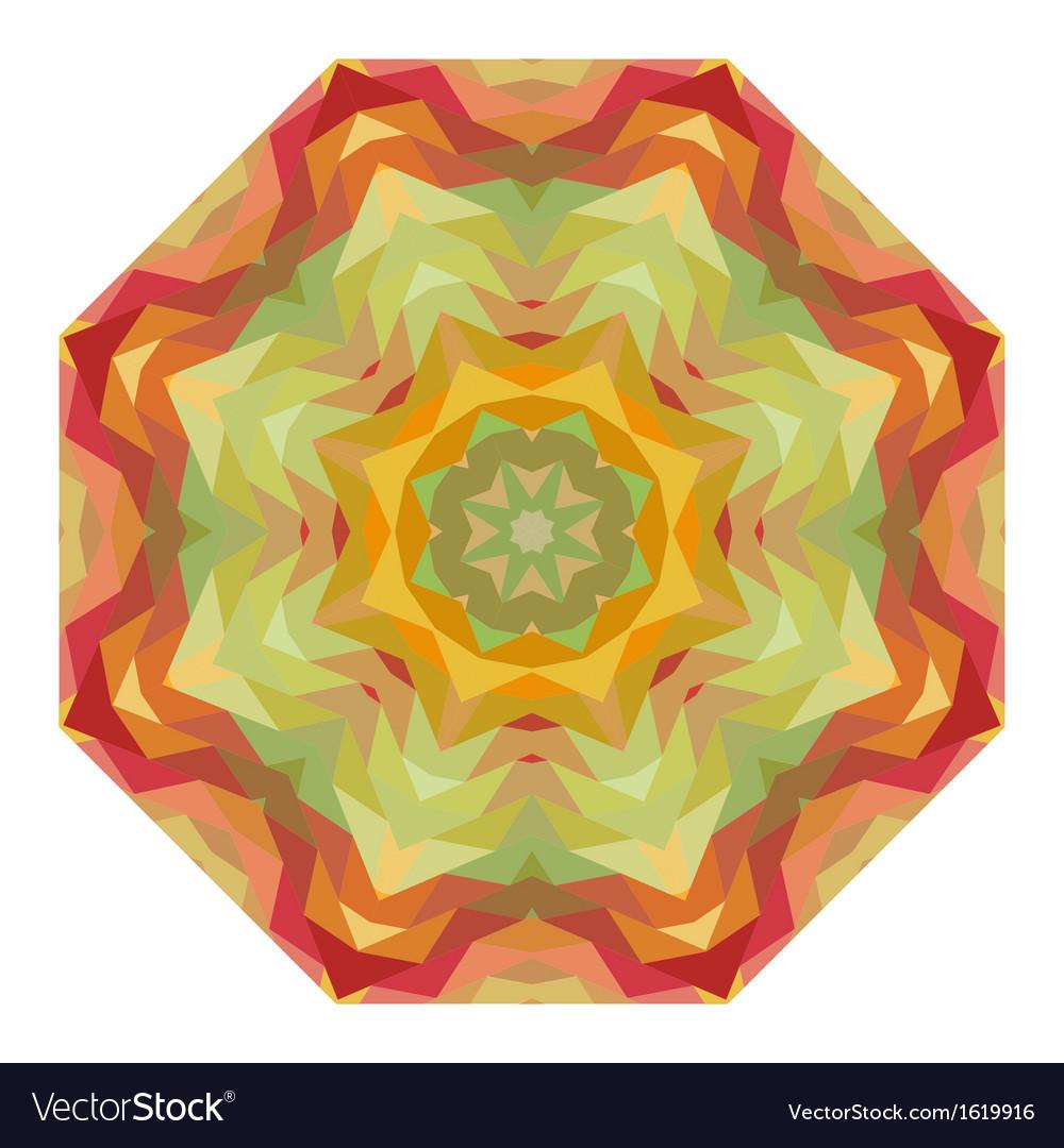 Ornamental round graphic pattern vector | Price: 1 Credit (USD $1)