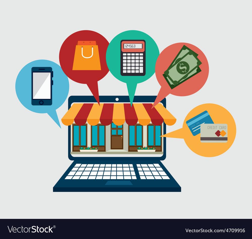 Shopping design vector | Price: 1 Credit (USD $1)